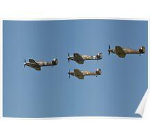 Hurricanes X4 Poster