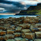 Looking towards the Causeway cliff top path. by Peter Ellison