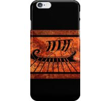 ancient Greece longship iPhone Case/Skin