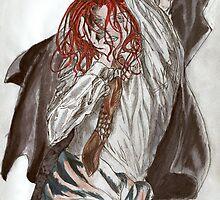 Fan Art Rosiel Angel Sancturary NFS by OneMultipleCode