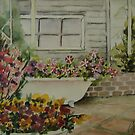 My mother-in-law garden. by Marilia Martin