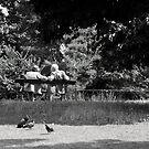 Afternoon at the Bois de Bologne by Virginia Kelser Jones