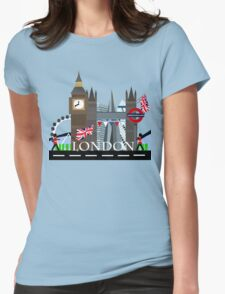 London City Womens Fitted T-Shirt
