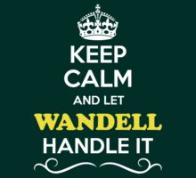 Keep Calm and Let WANDELL Handle it T-Shirt