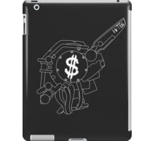 Chappie (White outline) iPad Case/Skin