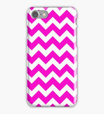 Cute Pink Chevron Pattern iPhone Case/Skin