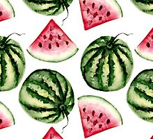 Watermelon pattern by JuliaBadeeva