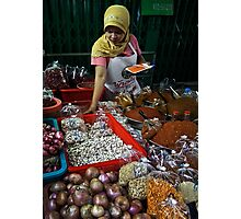 Spice Lady Photographic Print