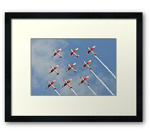 PC-7 TEAM (Swiss Air Force) Framed Print
