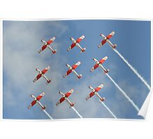 PC-7 TEAM (Swiss Air Force) Poster