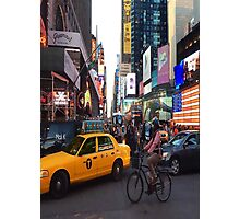 Times Square. Photographic Print