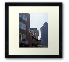 Union Street Framed Print