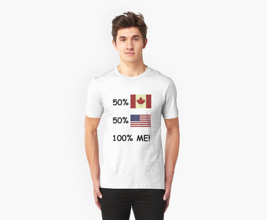 100 Percent Me! Canadian/American by Kevin  Whitaker