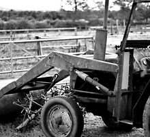 Retired Tractor by nickdubgolf
