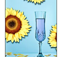 Cocktails with Van Gogh - Titled print by Mark Podger