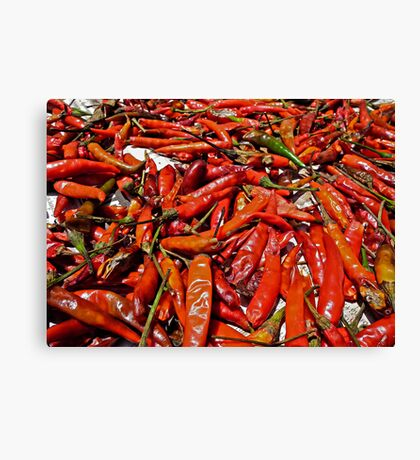 Spicy !!! Canvas Print