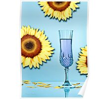 Cocktails with Van Gogh - Print Poster