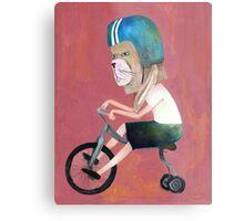 conejo en bicicleta 2006 Metal Print