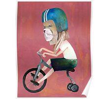 conejo en bicicleta 2006 Poster