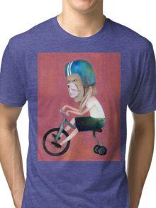 conejo en bicicleta 2006 Tri-blend T-Shirt