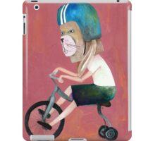 conejo en bicicleta 2006 iPad Case/Skin