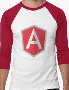Angularjs geek funny nerd Men's Baseball ¾ T-Shirt
