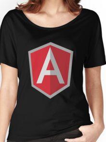 Angularjs geek funny nerd Women's Relaxed Fit T-Shirt