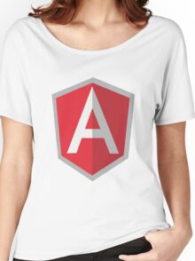 Angularjs geek funny nerd Women's Relaxed Fit T-Shirt