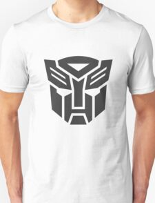 Autobot shield solid geek funny nerd Unisex T-Shirt