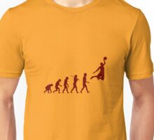 Basketball evolution geek funny nerd Unisex T-Shirt
