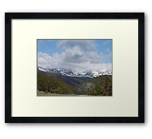 Colorado Rocky Mountain National Park Framed Print