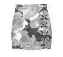 Auspicious Monochrome Mini Skirt