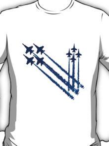 Blue angels double diamonds kids geek funny nerd T-Shirt