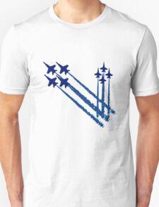Blue angels double diamonds kids geek funny nerd Unisex T-Shirt