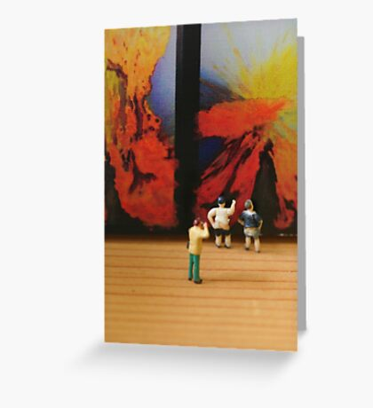 What John really wanted to create was a diptych, but ended up with a double exposure. Greeting Card