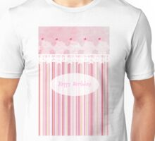 Happy Birthday (Cupcake) Unisex T-Shirt