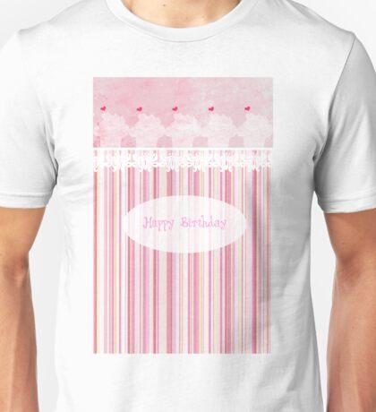 Happy Birthday (Cupcake) Unisex T-Shirt
