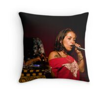Emceeing Throw Pillow
