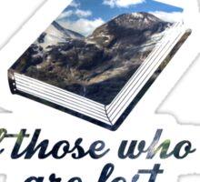 Tolkein-Inspired Quote Sticker
