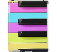 Retro Neon Keyboard iPad Case/Skin