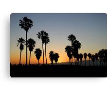 Venice Beach, CA Sunset Canvas Print