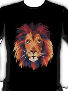 Low-poly Lion T-Shirt