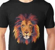 Low-poly Lion Unisex T-Shirt