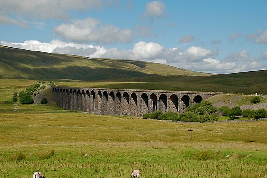 Ribble Head Viaduct by dougie1page2