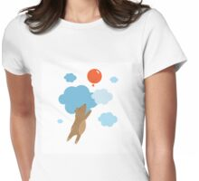 Balloon. Womens Fitted T-Shirt
