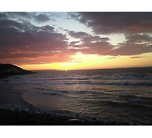 Sunset landscape  Photographic Print