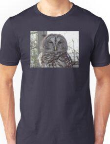 Barred owl Unisex T-Shirt