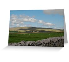 Ribble Head, Another View. Greeting Card