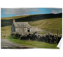 Old Barn, Yorkshire Dales Poster