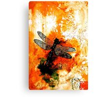The Nature of Things...The Dragonfly Canvas Print